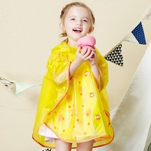 Hotsale new design carton Children raincoat colorful Kids EVA raincoats and ponchos