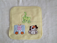 2015 newest High quality embroidered cute children's micro fleece pillowcase with zipper
