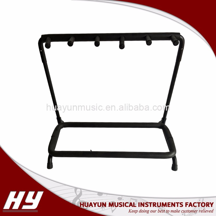 High quality metal guitar stand for multiple guitars ukulele bass violin