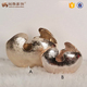 Home decoration abstract eggshell shape crafts