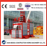 rack and pinion drive residential building builder construction lifter freight lift construction equipment construction hoist