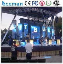 true color led video display cheap 2g phone call tablet pc Leeman flexible led curtain display p6 P10