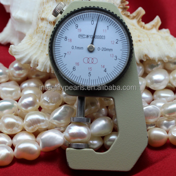 10-11mm AAA big baroque natural freshwater pearl