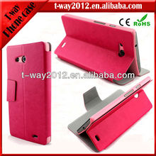 New arrival flip case for huawei ascend mate