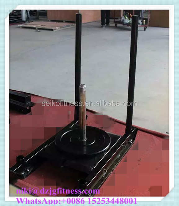 Push crossfit prowler sled crossfit sled / crossfit equipment / strongman sled machine JG-8607