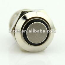 F0330 12mm metal push button switch with LED Momentary waterproof