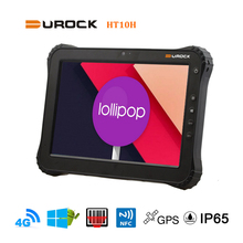 Light weight 10 inch Rugged Android Tablet IP65 with Barcode Reader NFC RFID Fingerprint Sensor