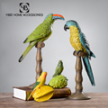 2018 New Home Decor Craft Resin Parrot figurine
