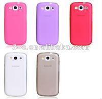 TPU mobile phone case for galaxy s3 i9300