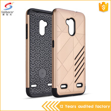 china factory unique pc tpu 2 in 1 mobile phone case for ZTE blade V6 plus