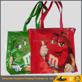 Wholesale custom offset printing glossy pvc tote advertising bag