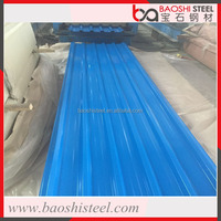 Baoshi Steel lightweight color coated galvanized metal roof tile in good price