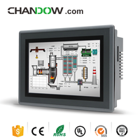Good Design Graphic Display HMI With Graphic User Operator Touchscreen Interace