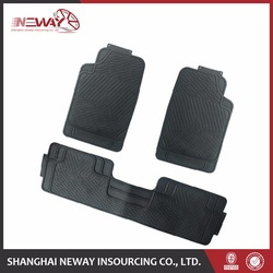 new model customized easy clean car mat