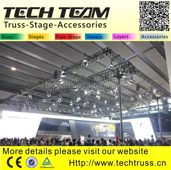 Aluminum cheap truss system stage truss system for sale for Cheap truss systems