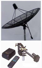 10ft feet 3m 300cm 120inch c band satellite hd digital aluminum mesh dish outdoor tv parabolic antenna for wind resist