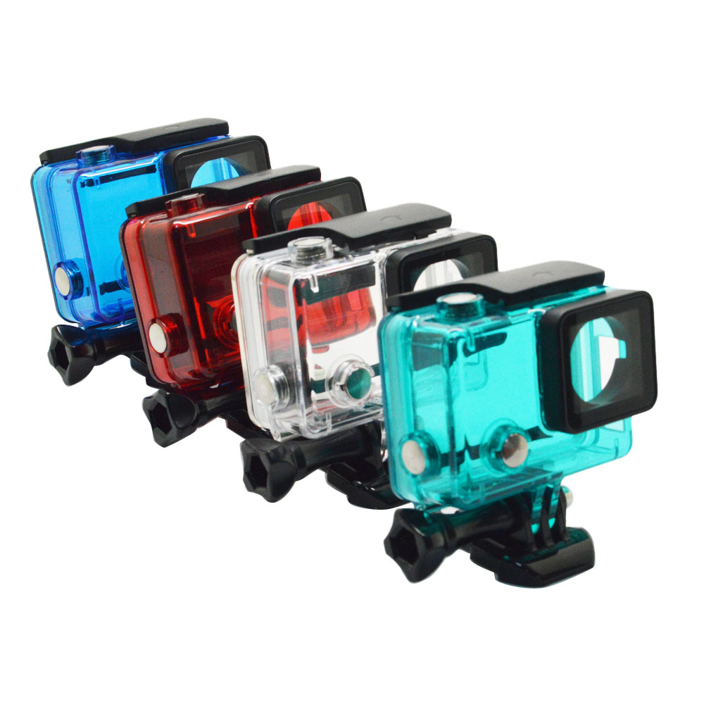 Underwater Waterproof Housing Gopro Blackout 3rd Party For Hero3 Hero4 Suppliers And Manufacturers At