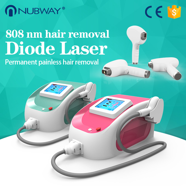 New Arrival Portable 10 BARS 808nm diode laser with CE/TUV laser hair removal