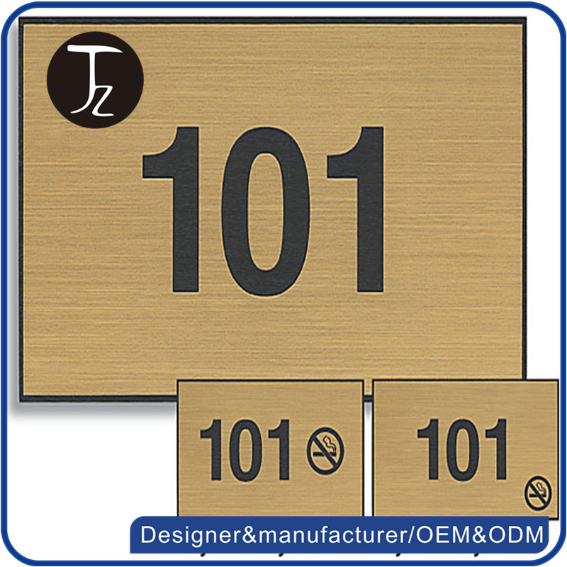 House number plate customize hotel room number signs