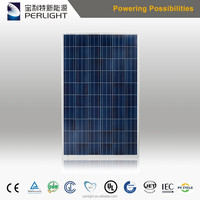China PV Manufacturer Solar Panels 260 TUV CE ISO Warranty Poly 260W Solar Module Price