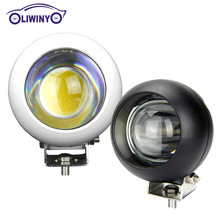 Liwiny Super Bright Led Offroad Light 3.6inch Round 15W Led Work Light For ATV Mining Machine Motorcycle