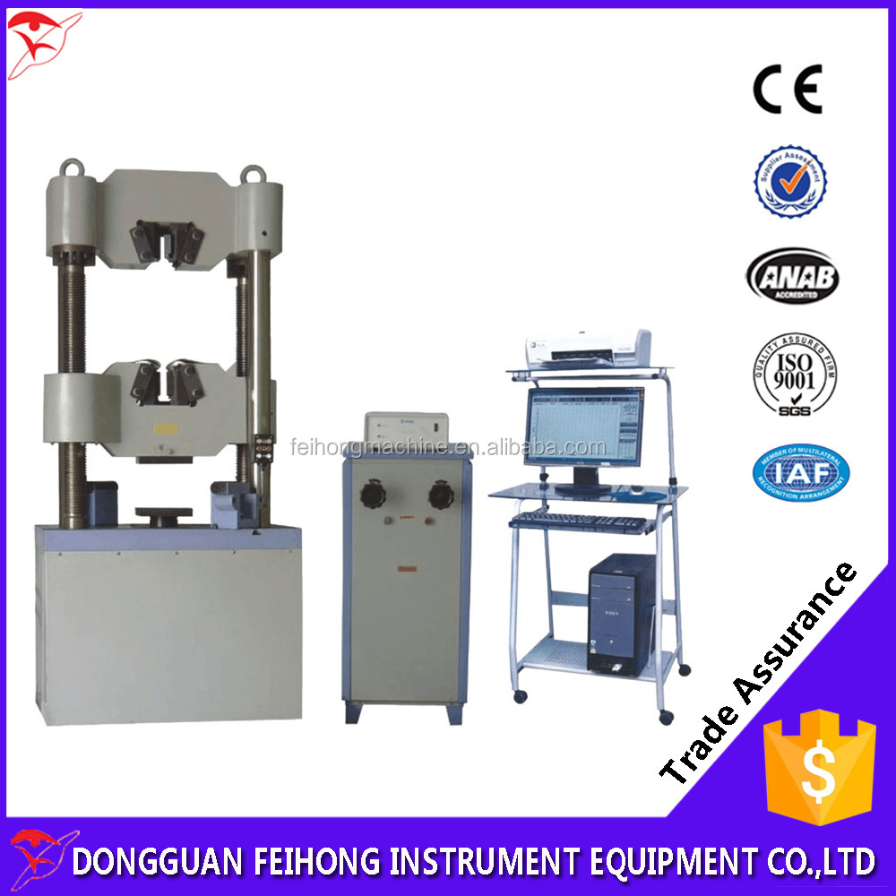 Computerized Electro-Hydraulic Servo Universal Testing Machine Price For Fatigue Tests
