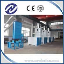 Textile waste automatic opening machine