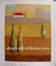 Fabric Landscape Painting Designs