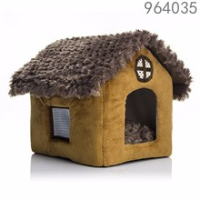 wholesale alibaba best selling products new S M L bird window house shape pet dog cat beds in garden