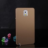 Simple design glossy metal hard case for samsung galaxy note 3 aluminum case