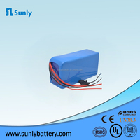 High capacity 24v 10ah li ion battery pack rechargeable 18650 lithium battery