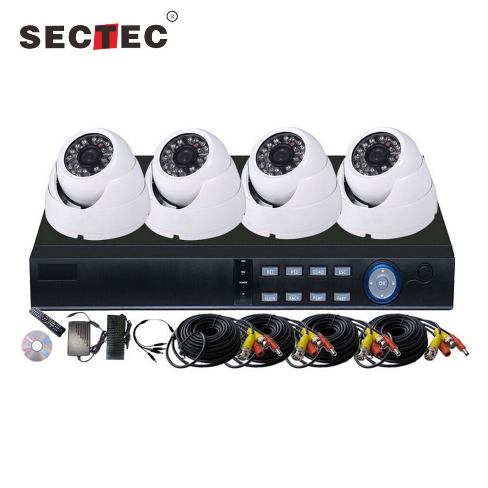 4ch Dvr Cctv Camera Kit 4ch 960p 4k Camera H.264 Hd Ahd Cctv Dvr Kit AHD cctv camera system