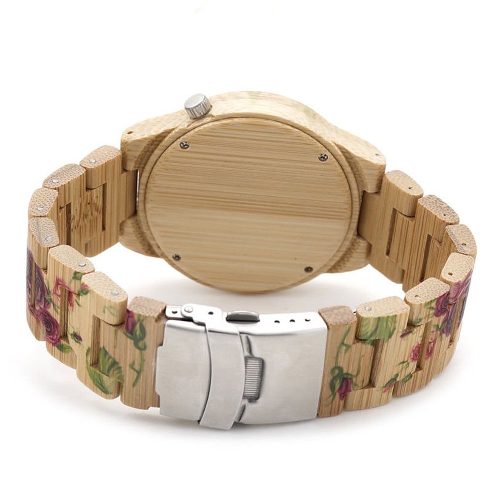 koda wood watch 2016 floral women wood watches with your logo from china watch factory