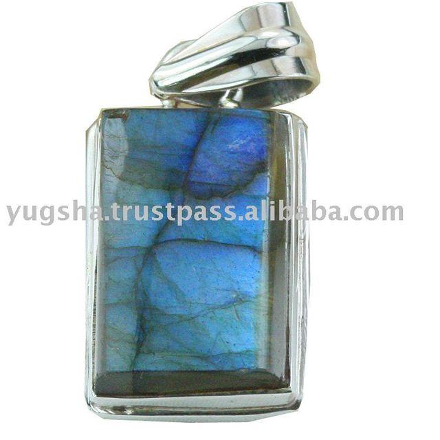 Labradorite Gemstone Pendant, Silver Jewelry, Silver Jewellery
