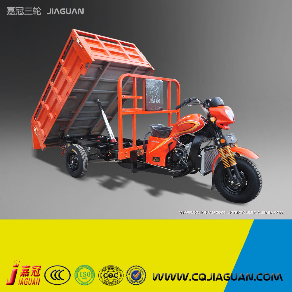 Disel Engine 4 Wheel Motorcycle With Cargo Box