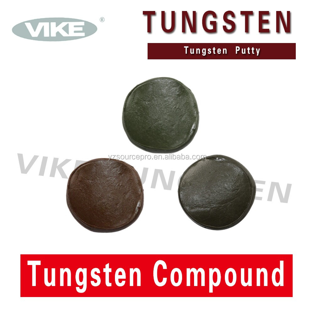 carp fishing tackle, bulk tungsten putty weight
