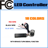 FCC Universal RGB RF Remote Controller for Motorcycle Auto LED Lighting System