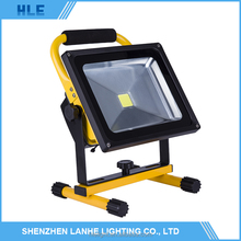 New design portable IP 65 5w 10w 20w 30w 50w outdoor rechargeable led flood lights