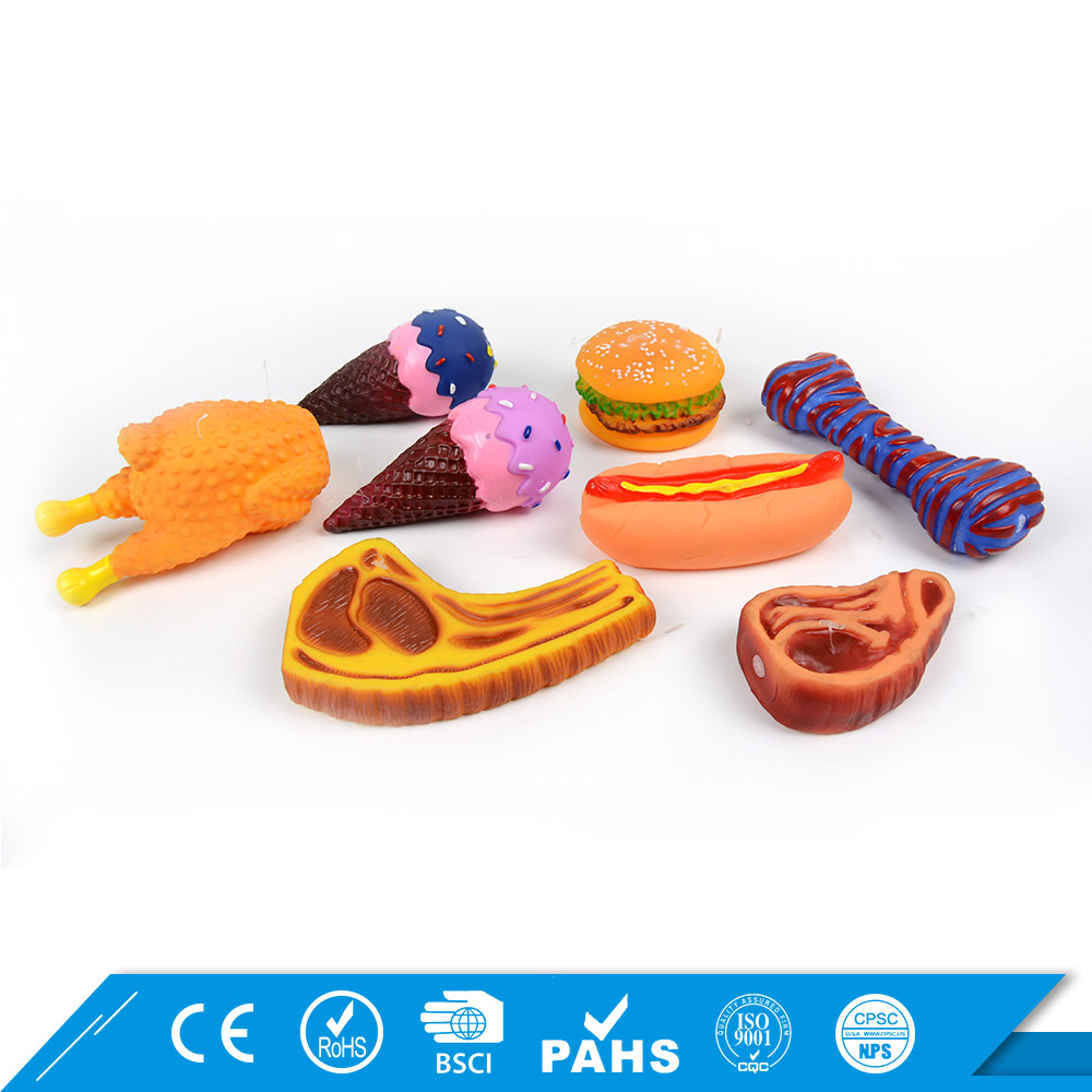 Fashion Voice Wholesale Rubber Dog Toys Free Samples