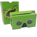 Customized design and print 3D google cardboard V2/3D google cardboard V2 showbox