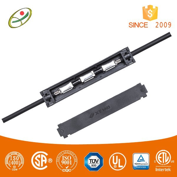 Hot sale flexible solar panel junction box with cable and connector (PV-XT1403)