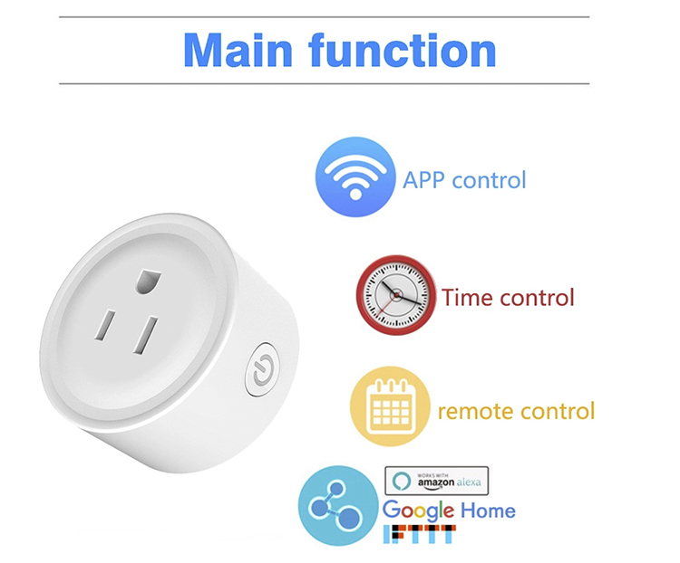 Customized professional good price of wall socket smart socket smart smart wifi socket and plug with sdk api