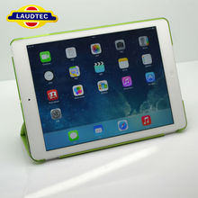For IPad 5 Tablet Cover,For IPad 5 Case,Leather Smart Case for IPad 5 With Transparent PC Back Cover