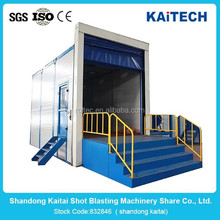 Air Blasting Booth/Room/Chamber/Cabinet/Equipment/Sand Blasting Pot/Sand Blasting Room With High Efficiency