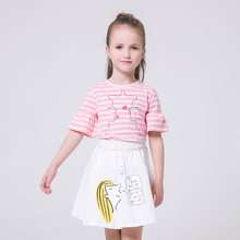 2017 hot sale summer new lovely mini girls skirts beautiful girls short skirts in stock width wholesale price