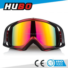 Dual color soft TPU frame scratch resistance MX goggles