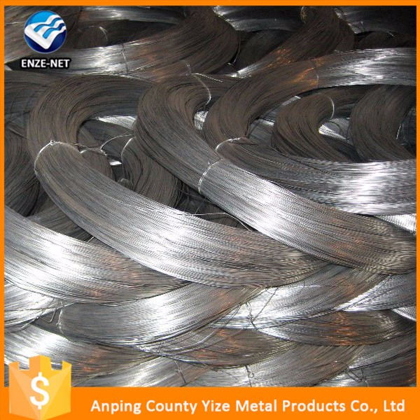 new premium galvanized steel wire for fish net gauge No 18 & 19.