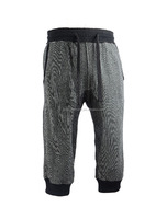 Men's yarn dyed knitted terry fabric pirate shorts