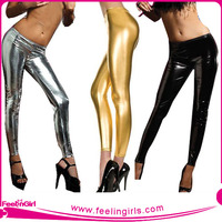 Wholesale Golden Sexy Shiny Tights For Women