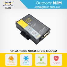serial modbus modem gsm modem vending machine gprs Industrial gprs modem with IO rs232 rs485 for SCADA